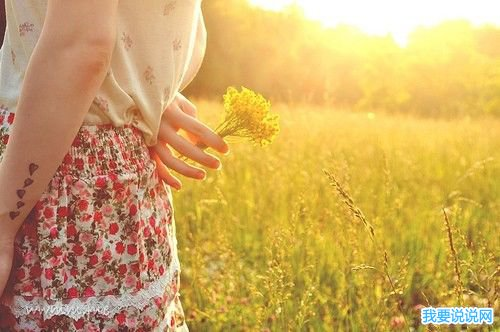 一份积极的阳光 里面充满了简短的充满正能量的早安词